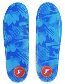 Footprint King Foam Orthotic Low Profile Insoles - Blue Camo