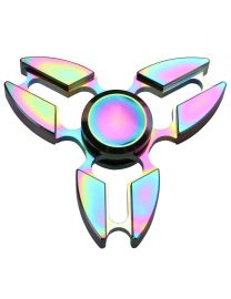 Rainbow Alloy Fidget Spinner