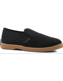 Hard Luck Pinta Slip On Shoes - Black and Gum