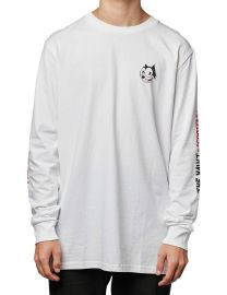 TV Scooter Cats Long Sleeve