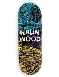 Berlinwood Fingerboard Deck - Gene BW Pattern