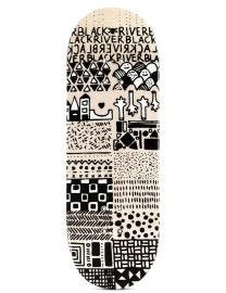 Berlinwood Fingerboard Deck -  BR EnVoyage Mini Pattern