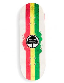 Berlinwood Fingerboard Deck - Rasta Rally