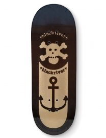 Blackriver Fingerboard Deck - Anchor Black