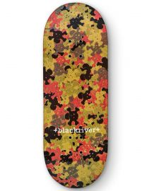 Blackriver Fingerboard Deck - Blackriver Camo