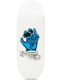 Close Up Fingerboard Deck - Riding Hand