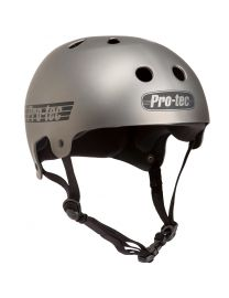 Pro-Tec Metallic Gunmetal Old School Helmet