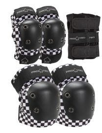 Pro-Tec Jr. Knee/Elbow/Wrist Combo Pad Set