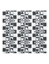 Teak Tuning Checkered Illusion Fingerboard Grip Tape - 3 Pack