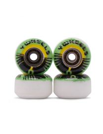 Yellowood Y2 Fingerboard Y-Wheels - Graphic Green