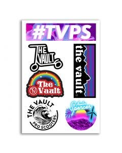 TV Sticker Sheet