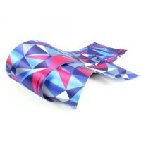 BarWraps Geometric - Blue/Grey/Pink