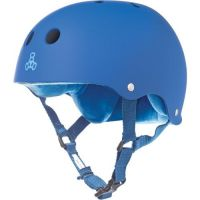 Triple 8 Brainsaver with Sweatsaver Liner - Royal Blue Rubber