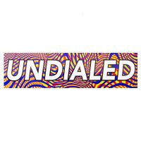 Undialed Boxed Sticker - Trippy