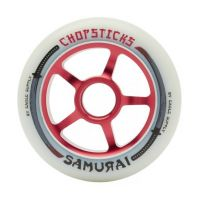 Clearance Eagle Supply Chopstix Samurai Wheels - White and Red