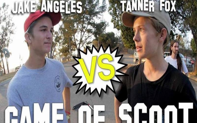 Tanner Fox vs. Jake Angeles Game Of SCOOT | The Vault Pro Scooters