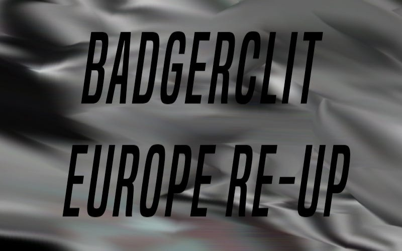 Badgerclit Europe Re-Up | The Vault Pro Scooters