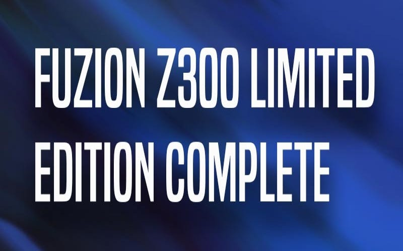 Fuzion Z300 Limited Edition Complete | The Vault Pro Scooters