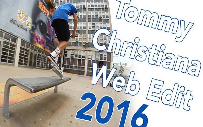 Web Edit 2016: Tommy Christiana | The Vault Pro Scooters