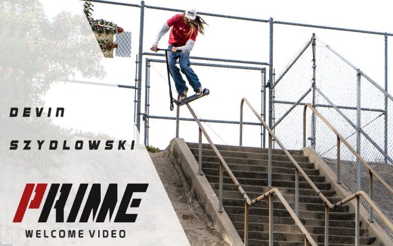Video Review: Devin Szydlowski - Welcome PRIME Scootering