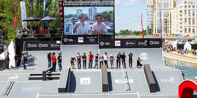 FISE Montpellier 2018 Scooter Freestyle Park Finals