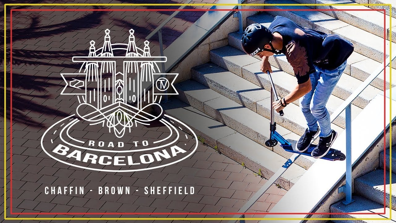 Road to Barcelona │The Vault Pro Scooters x Fuzion Pro Scooters
