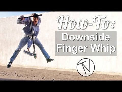 How To Downside Finger Whip │ The Vault Pro Scooters