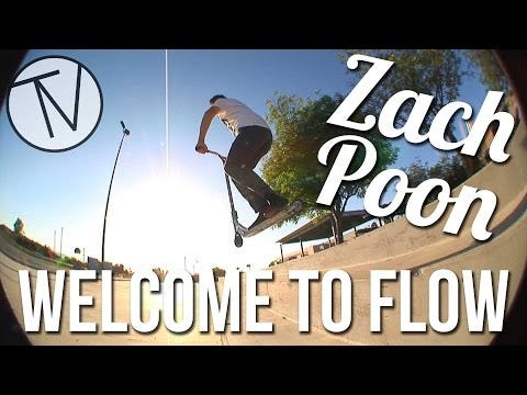 Zach Poon - Welcome To Flow │ The Vault Pro Scooters